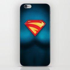 SUPERGIRL SUIT iPhone & iPod Skin
