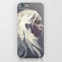 hair iPhone & iPod Cases featuring Mother of Dragons by Artgerm™