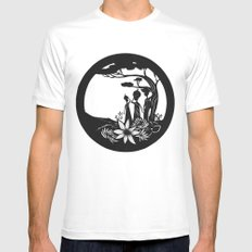 African women Mens Fitted Tee White SMALL