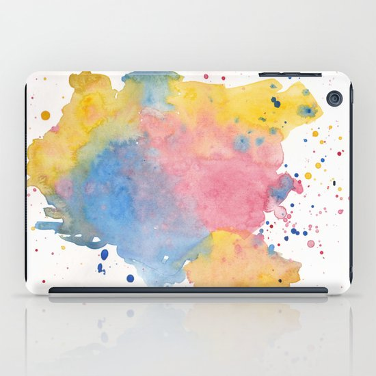 RAINBOW SPLATTER iPad Case