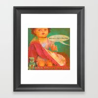 Don't Do It Peek-A-Boo S… Framed Art Print
