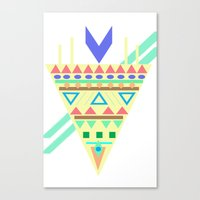 Triangle Affiniti Canvas Print