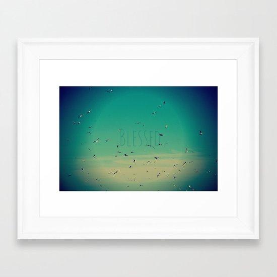 Blessed Framed Art Print