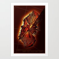 HOT STUFF Art Print