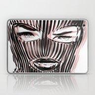 Badwood 3D Ski Mask Laptop & iPad Skin