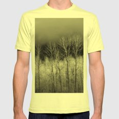 November Mens Fitted Tee Lemon SMALL