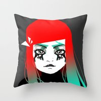 Hey Girl ! Throw Pillow