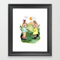 Happy Birthday Little Ra… Framed Art Print