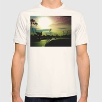 After The Storm Mens Fitted Tee Natural SMALL