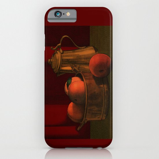 Still life with peaches iPhone & iPod Case