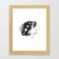 Cosmic Matter Framed Art Print