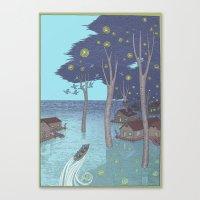 Port Of Tomorrow Canvas Print