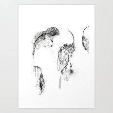 Extinction part1 Art Print