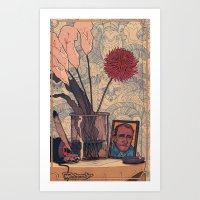 its bukowski Art Print