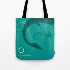 O is for Ogopogo Tote Bag