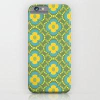 Retro Floral Cold 3 iPhone 6 Slim Case