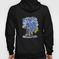 Hydrangea Painting Hoody