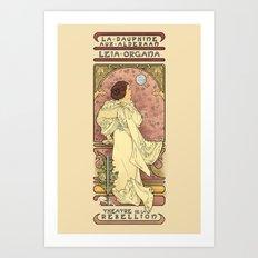 La Dauphine Aux Alderaan Art Print
