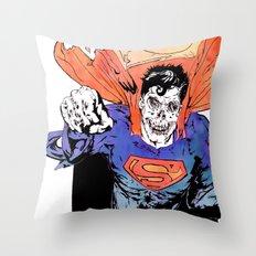 ZUPERMAN Throw Pillow