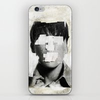 Faceless | number 02 iPhone & iPod Skin