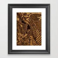 Birds (1) Framed Art Print