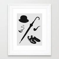 Gentleman's Accoutrements Framed Art Print