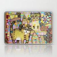 THE CITY OF 100 CATS Laptop & iPad Skin