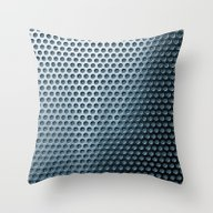 Punching*Trompe L'oeil Throw Pillow