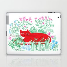 The Garden Cat Laptop & iPad Skin