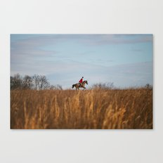 Fox Hunt Canvas Print