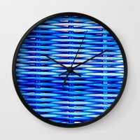 WICKER-PEDIA Wall Clock
