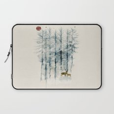 the blue forest Laptop Sleeve