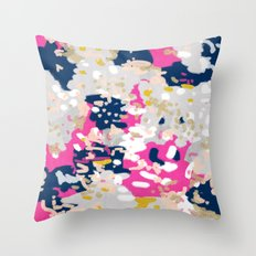 Michel - Abstract, Girly… Throw Pillow