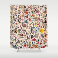 INDEX Shower Curtain