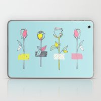 Rosewall (on Blue) Laptop & iPad Skin