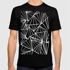 Ab Fan Zoom SMALL Black Mens Fitted Tee