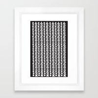 To The Moon//Two Framed Art Print