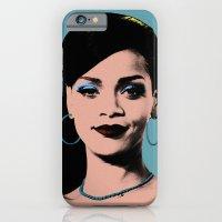 iPhone & iPod Case featuring Rihanna Pop Art by Hileeery