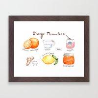 Marmalade Framed Art Print