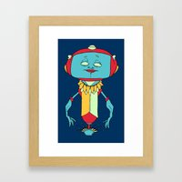 Bot Bot Framed Art Print