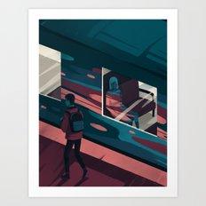 Away Art Print