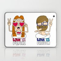 LOVEISPEACE&FREEDOM Laptop & iPad Skin