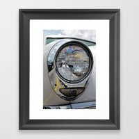 Car Capital Framed Art Print