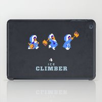 Ice Climber iPad Case