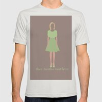Marc Jacobs Aesthetic Mens Fitted Tee Silver SMALL
