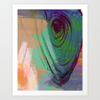 Hangin' Around Art Print