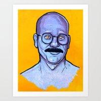 I Just Blue Myself Art Print