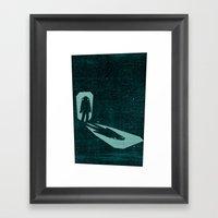 A Door Through Space Framed Art Print