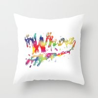 Whoah Throw Pillow