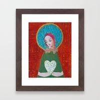 Wishing You Love Framed Art Print